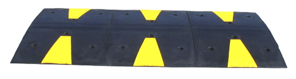 Speed Bumps, Speed Humps, Wheel Stops (Car Stops) & Wheel Chocks (chox). Factory Authorized Distributor / Dealer of recycled rubber and plastic traffic controls for parking lots, intersections, drive through restaurants, gates, barrier gate operators, bicycles and pedestrian control products. Competitive pricing on other traffic controls at discount.